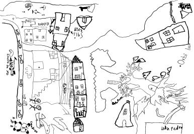 Mapas de vida dibujo